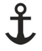 Maritime Services Anchor Icon